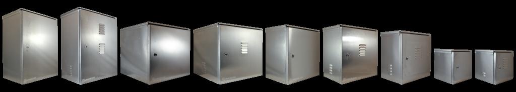 ArmorLogix marine grade aluminum enclosure product line up