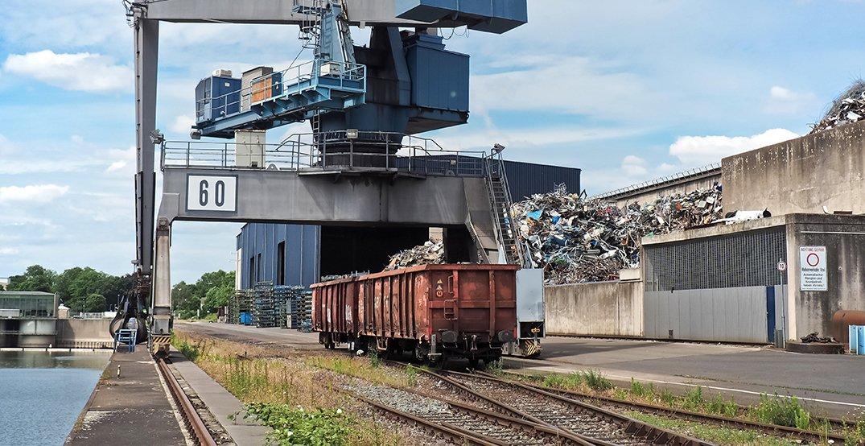 CCTV surveillance for Railroad loading areas