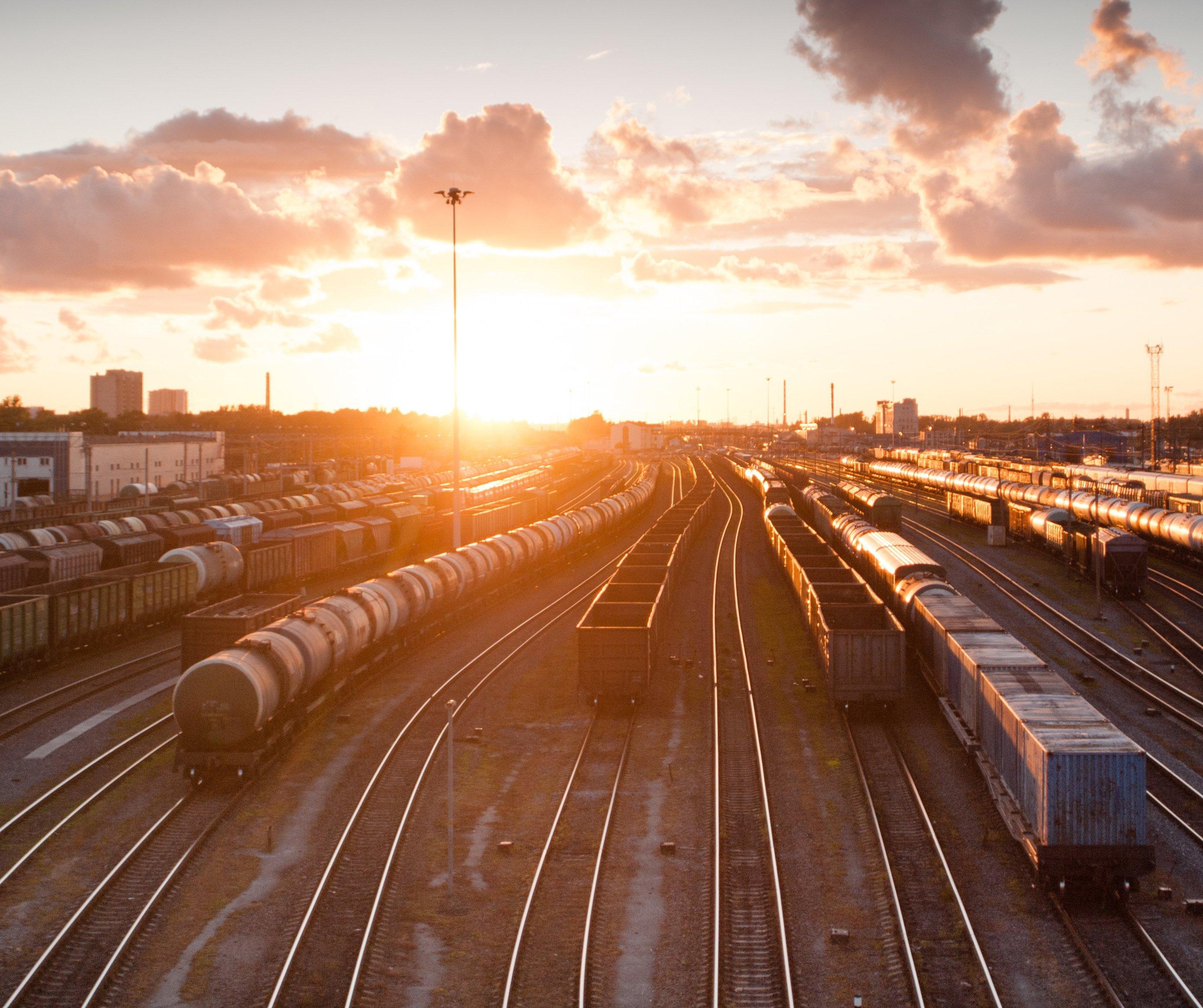 Providing CCTV coverage for railroad storage areas