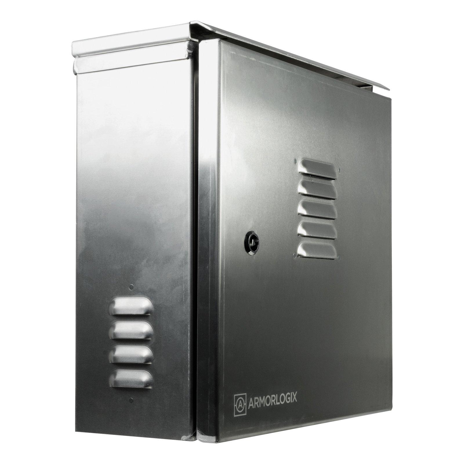 AL161606 ALUMINUM WEATHERPROOF ENCLOSURE   Military Grade Aluminum Storage Unit