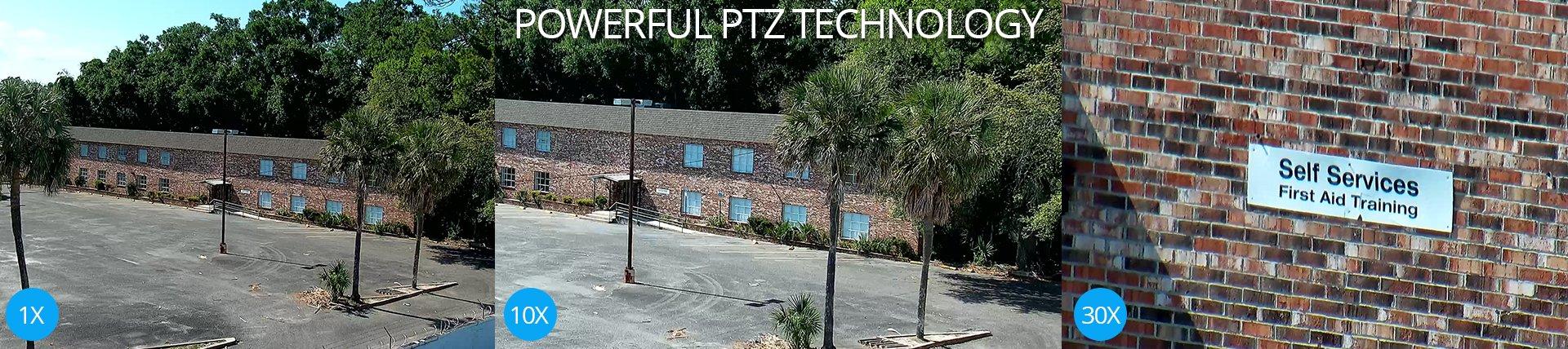 Pan Tilt Zoom PTZ Cameras