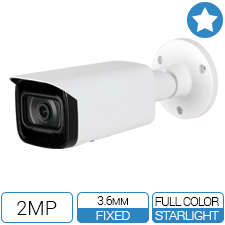 24/7 Full Color Outdoor IP Bullet Camera