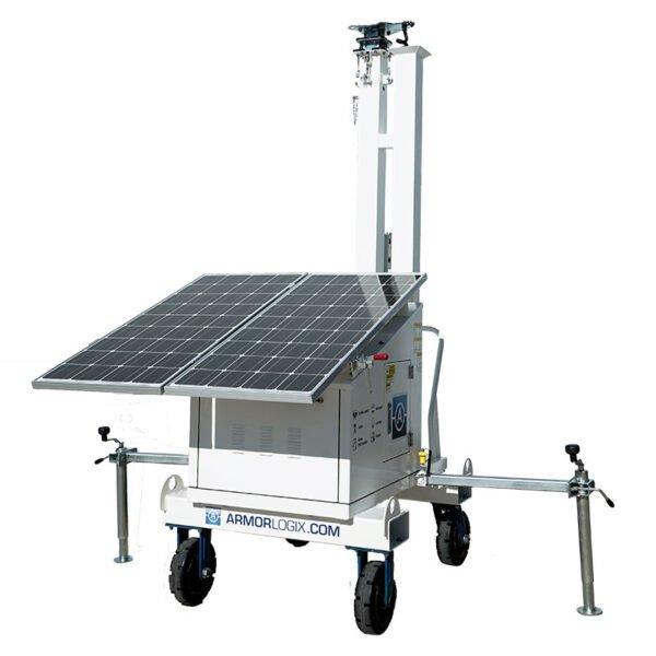 AL550 - 200W Solar Powered Cart with 18ft Mast