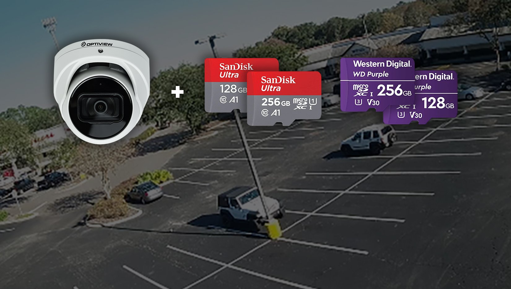 Edge Recording with Optiview IP Camera Security Systems