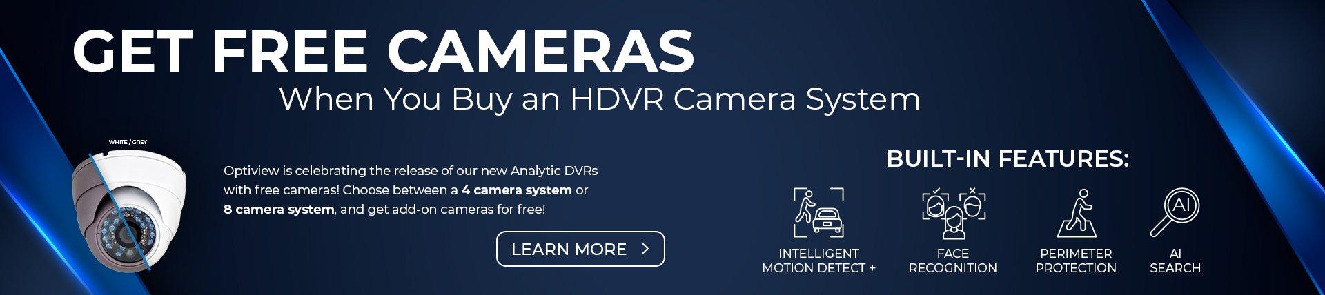 HDVR Camera System Sale – Header Optiview Website