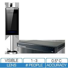 Desktop Kiosk Human Temperature Detection & Notification System