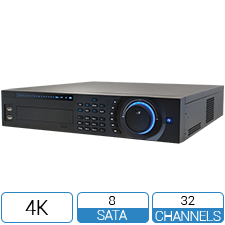 32 Channel NVR with Thermal Perimeter Protection analytics