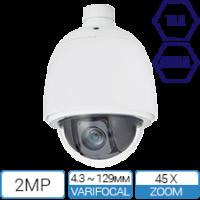 2MP TAA NDAA Compliant PTZ Camera