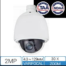 1080P 2MP TAA NDAA PTZ Camera