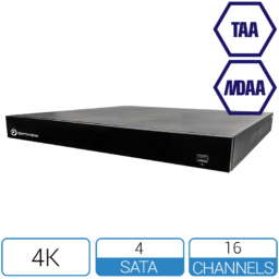 TAA NDAA compliant 16 channel NVR