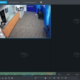 Playback Screen of Optiview VMX