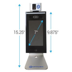 Human Temperature Detection Desktop Kiosk Solution