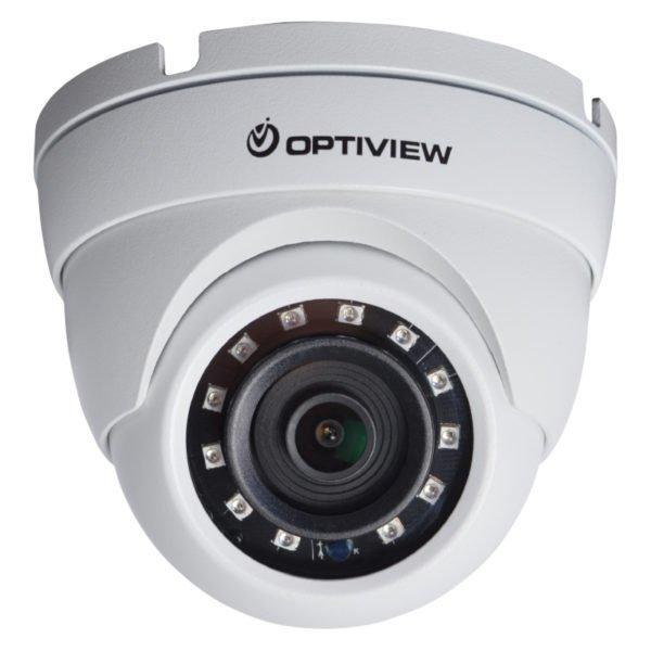 Front View - 5MP HD-CVI armor ball camera with 2.8mm wide angle lens