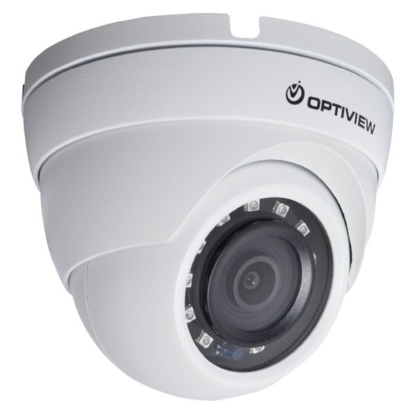 Right View - 45 Degrees - 5MP HD-CVI armor ball camera with 2.8mm wide angle lens