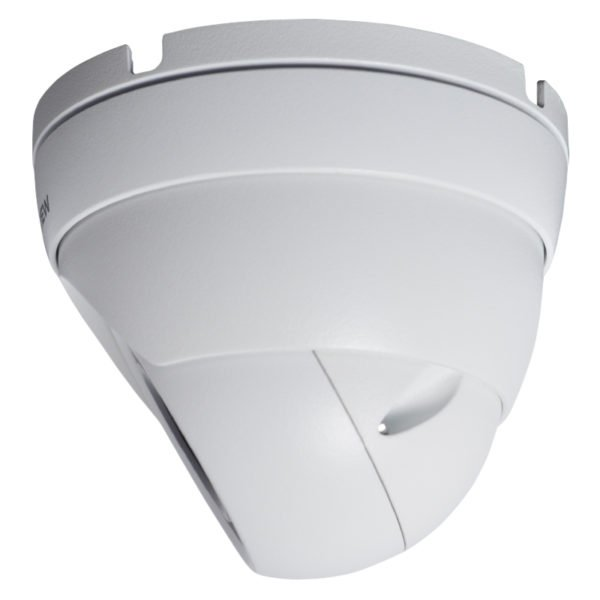 Left View - 90 Degrees - 5MP HD-CVI armor ball camera with 2.8mm wide angle lens
