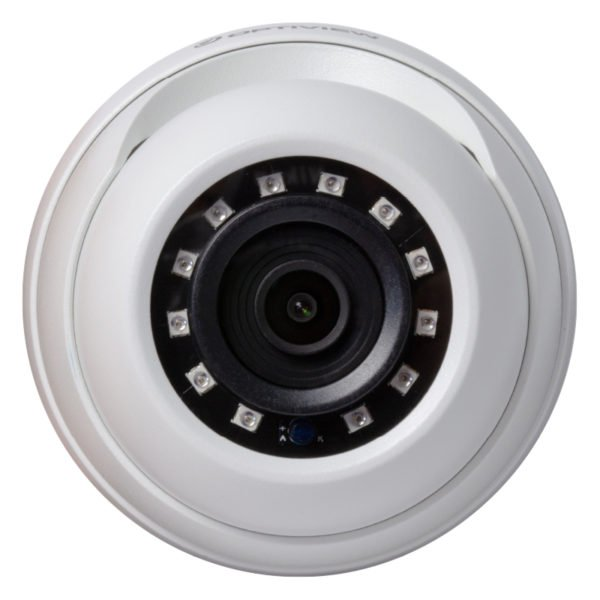 Top View - 5MP HD-CVI armor ball camera with 2.8mm wide angle lens