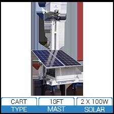 AL550 EDGE3 4G – 200W Solar Powered Mobile Surveillance Cart