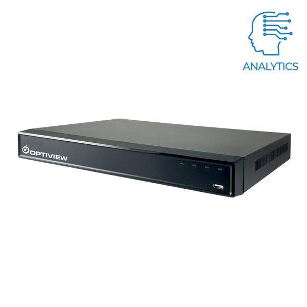 16 channel 4K DVR with Analytics