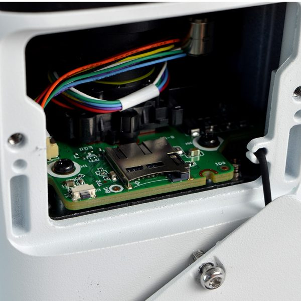IP4MIBC-212-ZA - Bullet IP Camera with Motorized Zoom & Mic - Optional Memory Slot