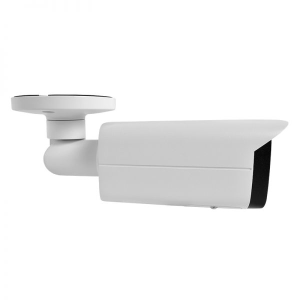 IP4MIBC-212-ZA - Bullet IP Camera with Motorized Zoom & Mic - Alternate Side View