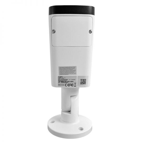 IP4MIBC-212-ZA - Bullet IP Camera with Motorized Zoom & Mic - Bottom View