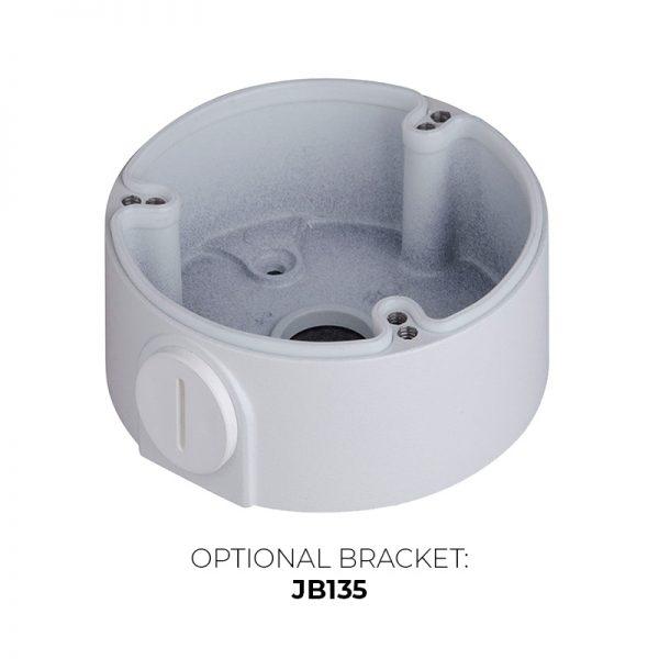 IP4MIBC-212-ZA - Bullet IP Camera with Motorized Zoom & Mic - Optional JB122IP4MIBC-212-ZA - Bullet IP Camera with Motorized Zoom & Mic - Optional JB135