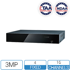 NVR16-4-TCL - TAA / NDAA Compliant 16 Channel NVR - Thumbnail