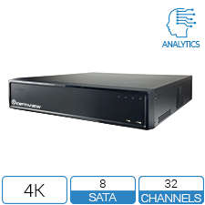 32 Channel DVR with Analytics