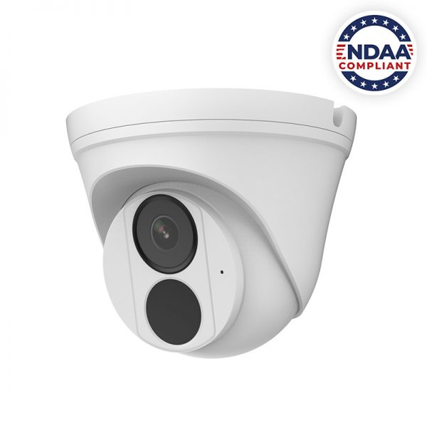 IP4MIAB-28-SDA-NCV - 4MP Network IR Fixed Armor Ball Camera with Built in Audio