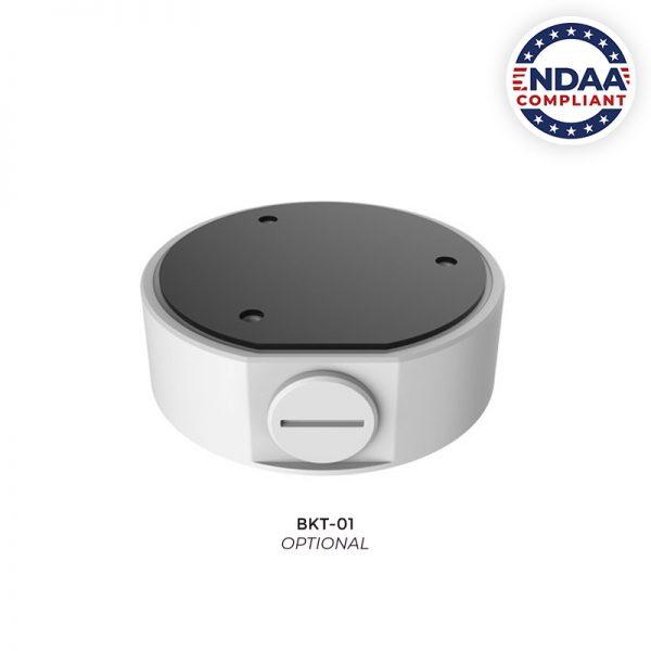 Optional Junction Box Bracket for IP4MIAB-28-SDA-NCV NDAA Compliant Camera