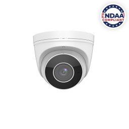 4MP Varifocal NDAA compliant IP Camera with Motorized Zoom