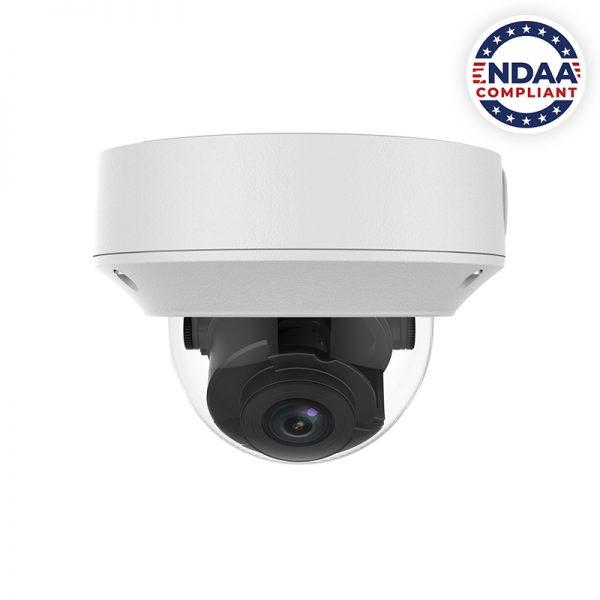 NDAA Compliant IP Armor Dome Camera