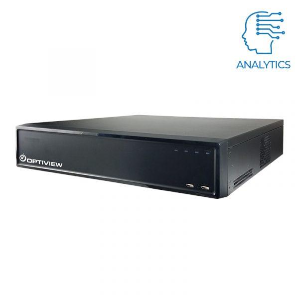 16ch 4K DVR with dual NIC and 80tb storage