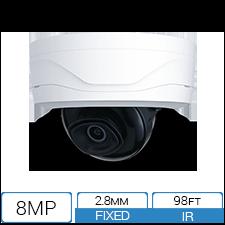 8MP / 4K IP Armor Dome Camera