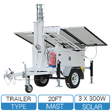 AL2300 Mobile Solar Trailer