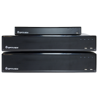 Record up to 4K IP with Optiview's NVRs
