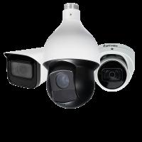 2MP / 1080P to 4K Network Video Surveillance Cameras