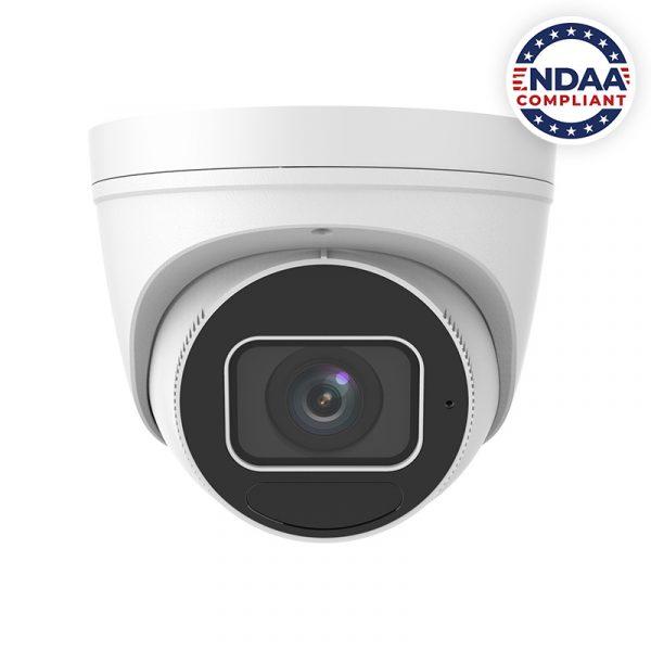 4MP NDAA Compliant Network IP Dome Camera with AI