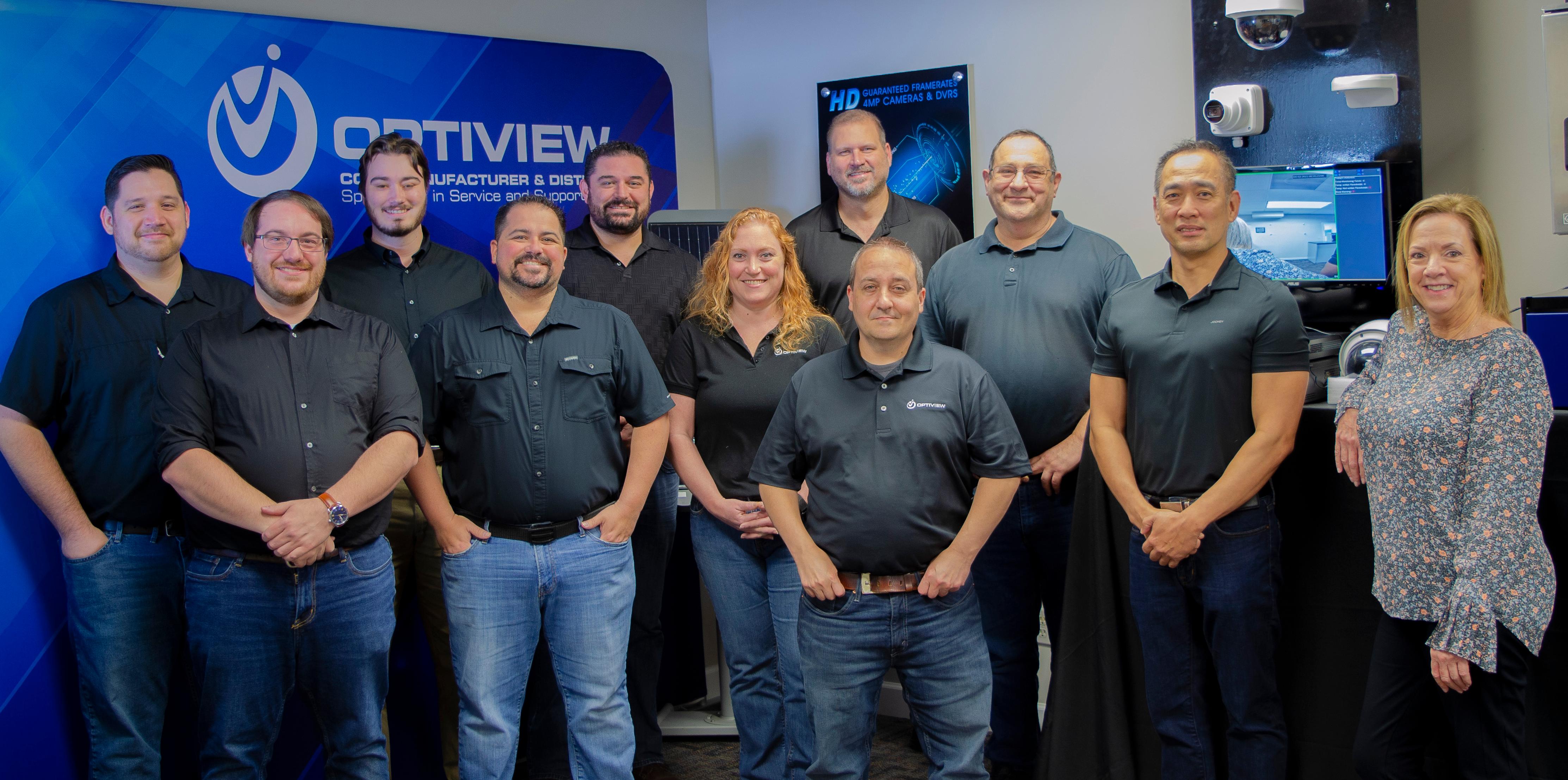Optiview Team Photo 2021