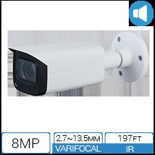 8MP 4K Network Bullet Camera