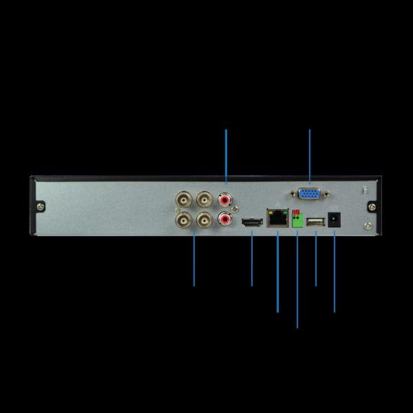 HDVR44KQ1AI - Backplate