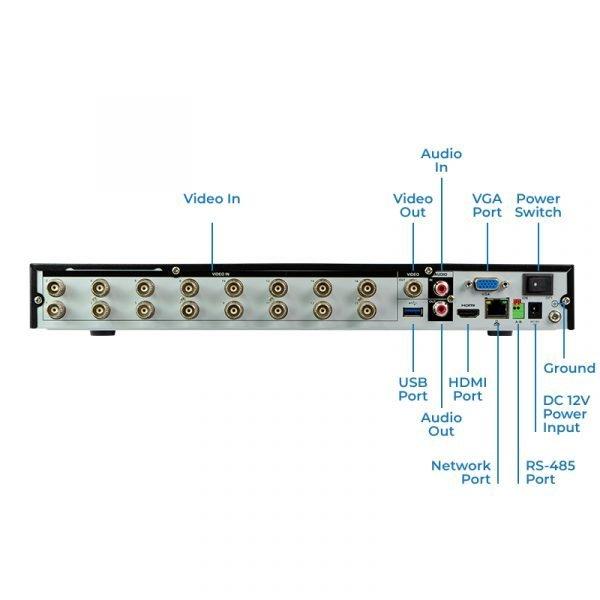 HDVR164KP-Q2AI - Back Plate