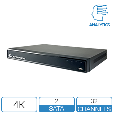 32ch NVR with Analytics